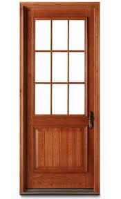 Glass Exterior Door Residential Entry Door