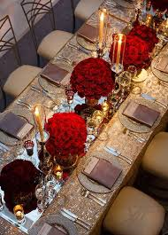 Valentines Day Table Decor Extraordinary Valentines U0027 Table Settings For A Classy Celebration