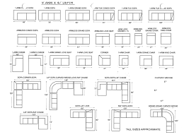 Sofa Dimensions Standard Enchanting 30 Sofa Dimensions Design Ideas Of Loveseat Dimensions
