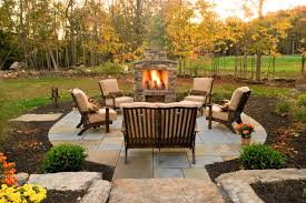 Outdoor Patio Design Patio With Fire Pit Shares Beautiful Awe With Personality Richness