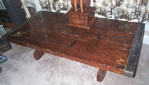 Cover Coffee Table Merchant Marine Naval Victory Ship Or Liberty Ship Wooden Hatch