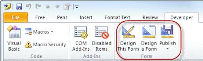 outlook 2013 design designing custom outlook forms