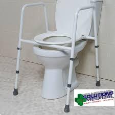 over toilet seat chair frame adjustable height splash guard powder