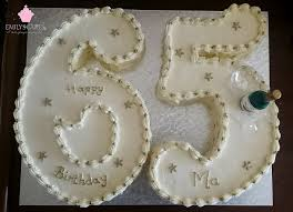 number birthday cakes creative number shaped cakes emily u0027s