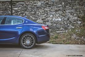 blue maserati ghibli maserati ghibli diesel prejudices apart auto class magazine