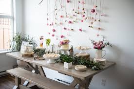 backdrop for baby shower table diy carnation backdrop fiftyflowers the blog