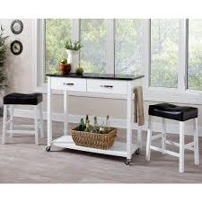 counter height table with storage casual 3 piece kitchen mobile counter height table set with storage