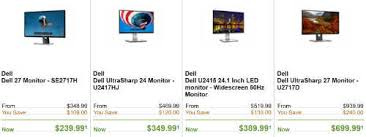 best black friday monitor deals 2016 dell u0027s pre black friday deals frenzy canada