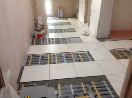 underfloor heating for hallway kitchen and bathroom