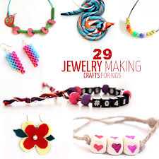 bead bracelet make necklace images Jewelry crafts for kids moms and crafters png