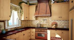 tuscan kitchen decor for a makeover that produces a bright and
