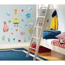 Spongebob Bathroom Decor by Little Kids U0027 Bathroom Spongebob Metal Wastebasket New House