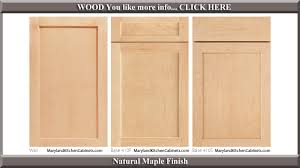 Kitchen Cabinet Door Design by 410 U2013 Maple U2013 Cabinet Door Styles And Finishes Maryland Kitchen