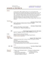 Examples Of Free Resumes by Resume Examples Example Of Resume By Easyjob The Best Free