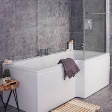 Bathroom Baths And Showers Baths Shower Corner Baths Diy At B Q