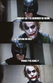 Photo Comment Meme - comment ca t es beurrer de meme initiation du hec pense t es cool