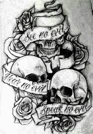 see no evil hear no evil speak no evil tattoos 28 hear no evil