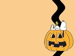 snoopy halloween wallpaper wallpapersafari