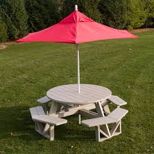 jayhawk plastics picnic table composite picnic table with umbrella best table decoration