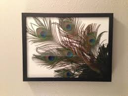 i just made this for my bathroom easy to do a bunch of peacock