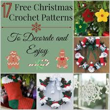 Free Christmas Decorations 17 Free Christmas Crochet Patterns To Decorate And Enjoy