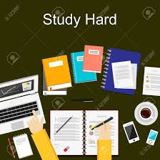 design management careers flat design illustration concepts for study hard working research
