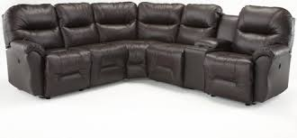 Reclining Sectional Sofas Best Home Furnishings Bodie Six Reclining Sectional Sofa