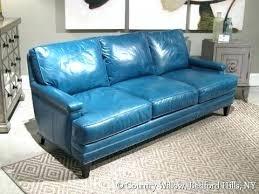 Teal Blue Leather Sofa Blue Leather Veneziacalcioa5