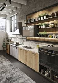 perfect industrial kitchen designs with additional home decoration
