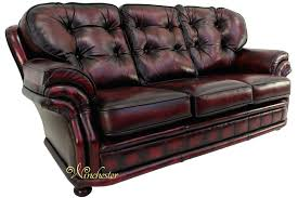 leather sofa vintage oxblood chesterfield sofa oxblood leather