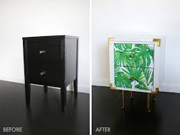 Small Nightstand Table Project Restyle Nightstand Table Makeover U2013 A Beautiful Mess