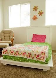 How To Make A Twin Bed Headboard by Kids Twin Platform Bed Frame U2014 Modern Storage Twin Bed Design