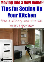 How To Organize A Kitchen Cabinets Moving Into A New Home How To Set Up Your Kitchen Organizing