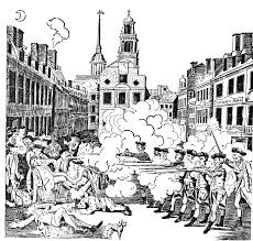 boston massacre coloring pages coloring home