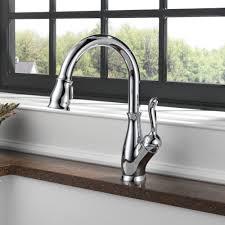 pull down kitchen faucet brushed nickel izak pulldown sprayer