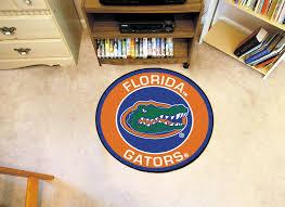 florida gators home decor of florida gators logo roundel mat 27