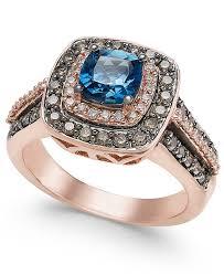 rings london images Le vian chocolatier london blue topaz 1 ct t w and diamond 3 tif