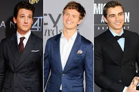 ansel elgort star wars han solo spin off shortlists miles teller ansel elgort
