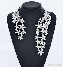 big choker necklace images Luxury big necklace for women fashion novelty jewelry with flower jpg