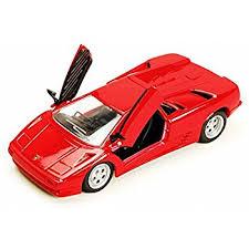 lamborghini diecast model cars amazon com lamborghini diablo gt diecast model silver 1 18 die