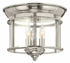 Ceiling Lighting Fixtures by Hinkley 3473pn Gentry Polished Nickel Ceiling Light Fixture Hin
