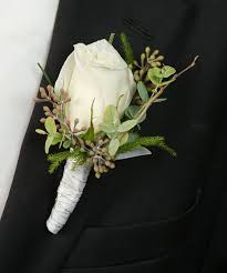 white boutonniere about white boutonniere from walter knoll florist in