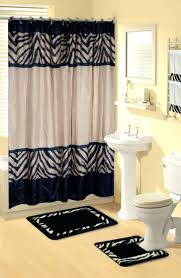 Curtain With Hooks Zebra Print Shower Curtain Hooks Shower Curtains Design