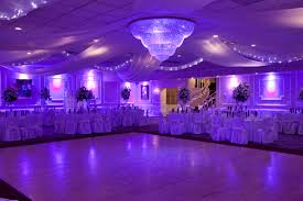 sweet 16 venues purple lighting for a wedding prom sweet 16 or any other