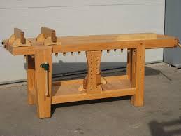 david barron furniture roubo split top workbench