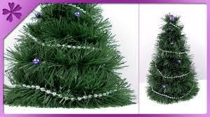Easy Diy Christmas Tree Garland Diy Garland Christmas Tree Eng Subtitles Speed Up 154 Youtube
