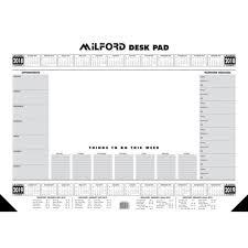 desk pad calendar 2017 collins a2 executive desk pad calendar 2017 2018 50 sheets