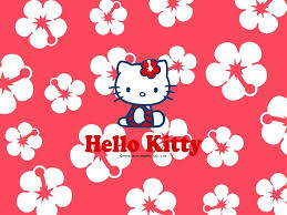 hello kitty wallpaper screensavers flower blossoming interesting white colours in middle beautifull