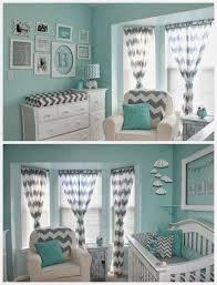 Teal Nursery Curtains Nursery Curtains