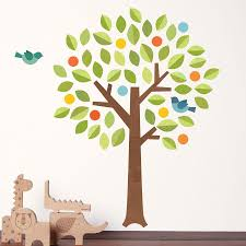 Baby Nursery Tree Wall Decals by Tree Wall Decals Larida Us